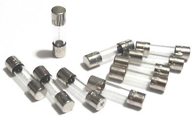 SET OF 20 EACH F2 AL 250V F2AL250V LF LITTELFUSE 5MM x 20MM 2A FUSES