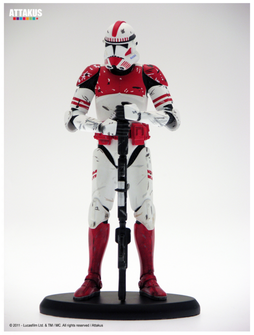 Star Wars Attakus Commander Thire Limited Cold Cast 1 10 Scale Statue
