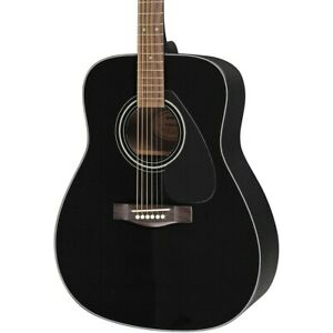 yamaha f335 acoustic guitar black 86792829937 ebay. Black Bedroom Furniture Sets. Home Design Ideas