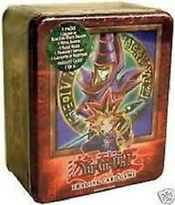 YuGiOH - DARK MAGICIAN TIN - 2003 Collector Classic Mint Factory Sealed English