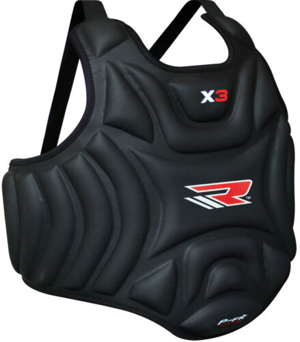 RDX Boxing Protector Chest Guard MMA Body Armour Training os