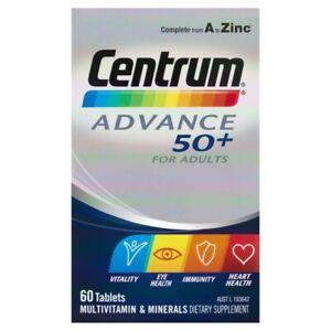 Centrum Advance 50+ Multivitamin Tablets 60 pack