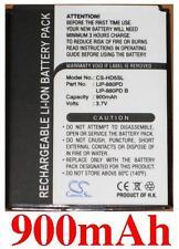 Batería para SONY NW-HD5Silver NW-HD5 LIP-880 LIP-880PD LIP-880PD-B 900mAh