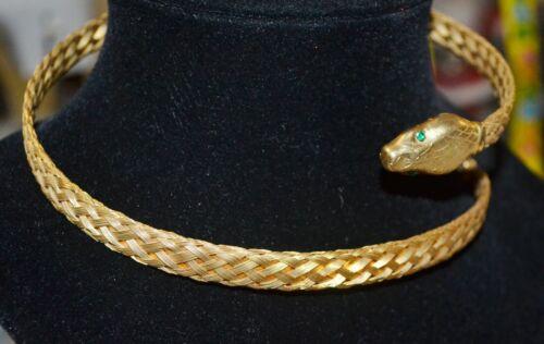 RARE Vintage Napier Snake Necklace