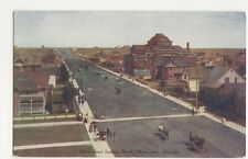 Canada, Main Street Looking North, Moose Jaw Postcard, B150