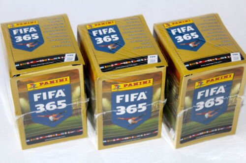 PANINI FIFA 365 saison * 2016 * Ed. South America, 3 x Display Box 750 Stickers