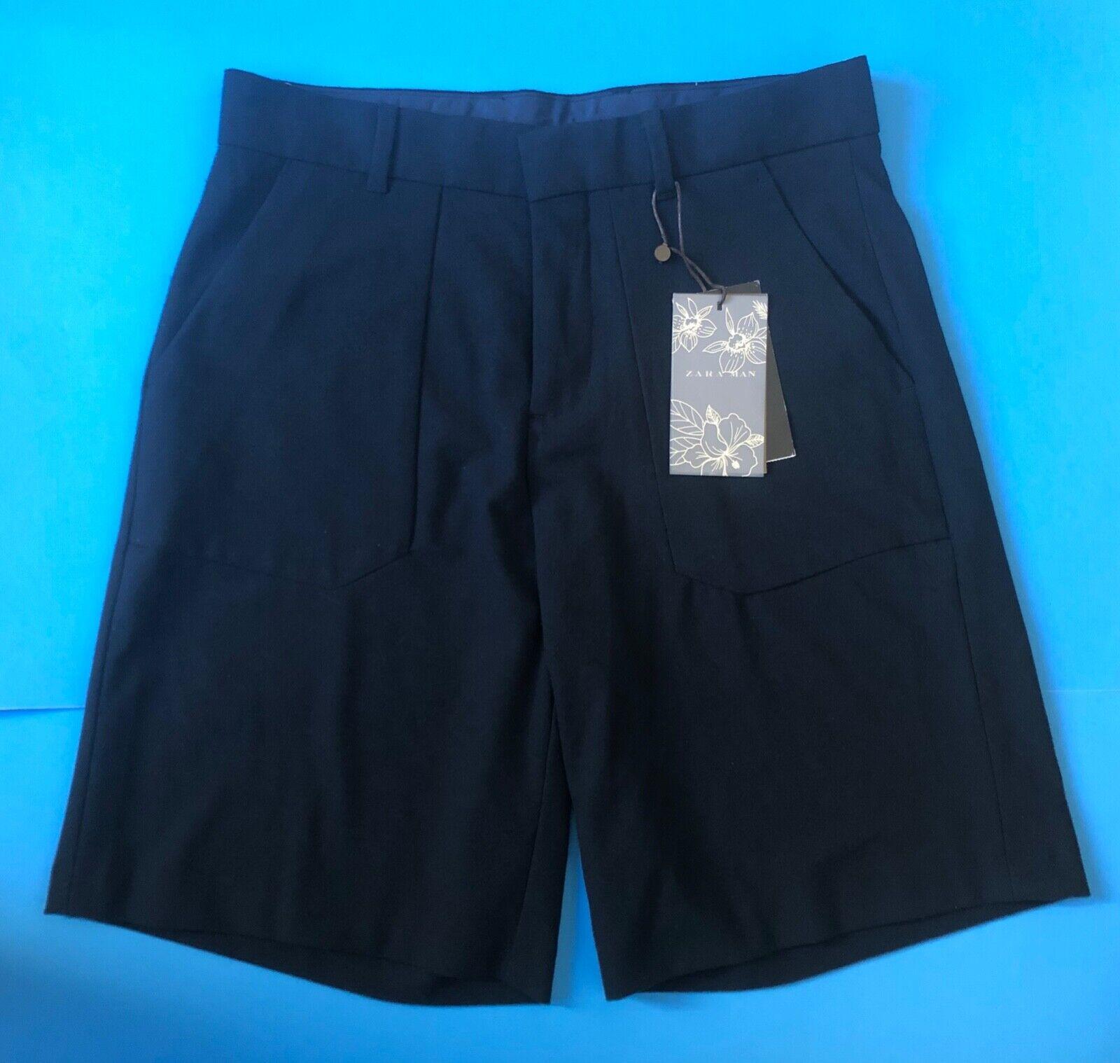 NWT ZARA MAN Shorts Navy bluee