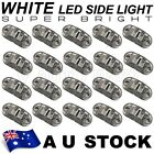 20X White Side Light LED Marker for Trailer Truck Turn Clearance PC len AU ship