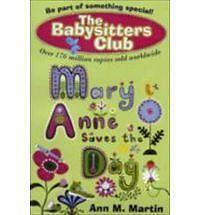 Mary-Anne-Saves-the-Day-New-Babysitters-Club-2010-Good-Martin-Ann-M-Book