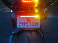 Trailer Atv Snowmobile Motorcycle Scooter Led Integrated Tailight