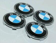 BMW 68MM WHEEL EMBLEMS x4 SUIT E46 SALOON 318i SE SERIES CARS FOR OEM ALLOYS