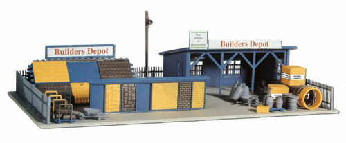 Depot Builders Power Model Building Shipping Free - Scale HO
