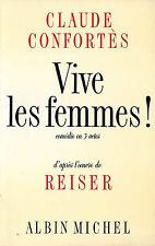 EO CLAUDE CONFORTÈS + REISER SUPERBE DÉDICACE À ROLAND TOPOR VIVE LES FEMMES !