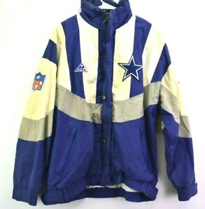 NFL-Limited-Edition-Apex-One-Men-039-s-L-VTG-Vintage-Dallas-Cowboys-Nylon-Jacket