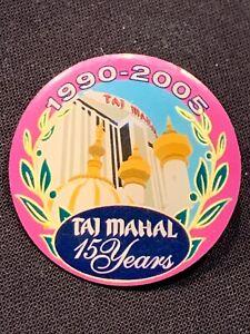 Trump-Taj-Mahal-15-Years-Pin-Atlantic-City-NJ-Casino-Marked-314-Rare
