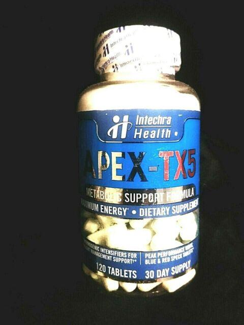 INTECHRA HEALTH..APEX-TX5..MAX ENERGY..METABOLIC SUPPORT