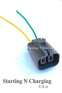 image is loading alternator-repair-plug-harness-2-pin-pigtail-connector-