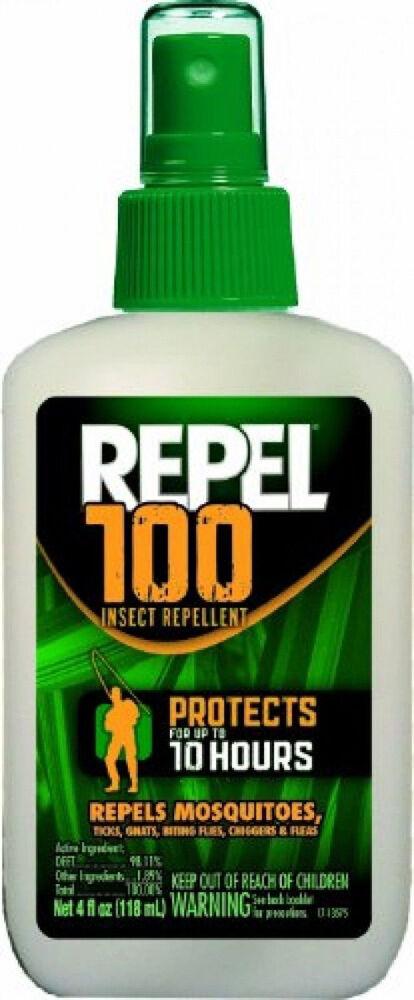 Repel 100% Pump DEET Insect Repellent Pump 100% Spray 4 oz 0a5b21