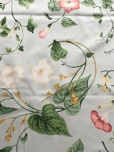 sanderson-Designer-fabric-curtain-Upholstery-material-034-Moonflower-4mtrs-54-034-wide