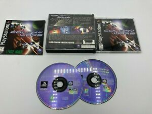 Sony-PlayStation-1-PS1-PSOne-Tested-Complete-CIB-Colony-Wars-Ships-Fast