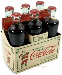Coca-Cola-Circa-1899-Limited-Edition-Christmas-6-Pack-9-3-oz-Bottles-Mint-Sealed