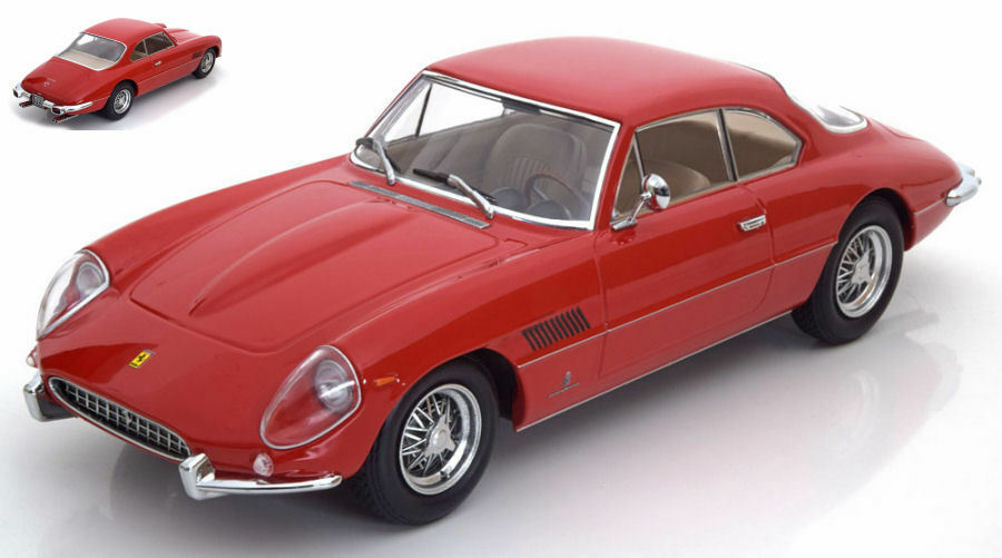 Ferrari 400 superamerica 1962 rote 1,18 modell kk - skala