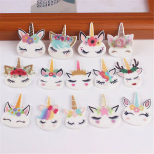 5pcs-planar-resin-cute-unicorn-head-kawaii-resin-cabochons-DIY-craft-accessor