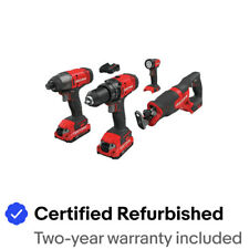 Craftsman CMCK400D2R 20V Li-Ion 4-Tool Combo Kit (2 Ah) Certified Refurbished