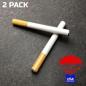 a505fde5fb One Hitter Metal Pipe Bat 2 PACK Chillum Tobacco Smoke Smoking ...