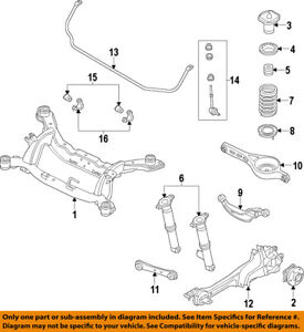 image is loading volvo-oem-10-17-xc60-rear-suspension-coil-
