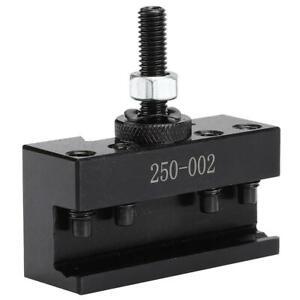 250-002-Quick-Tool-Change-Holder-Turning-Facing-Lathe-parting-Blade-BrandNew