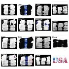 Men's Sports Athletic Socks Lot 9-11 10-13 Cotton Crew Ankle Low Cut 4-12 Pairs
