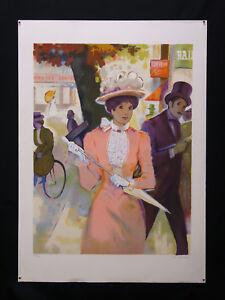 Bernard-Peltriaux-1921-1999-Lithography-203-250-Paper-Arches-Elegant-Paris