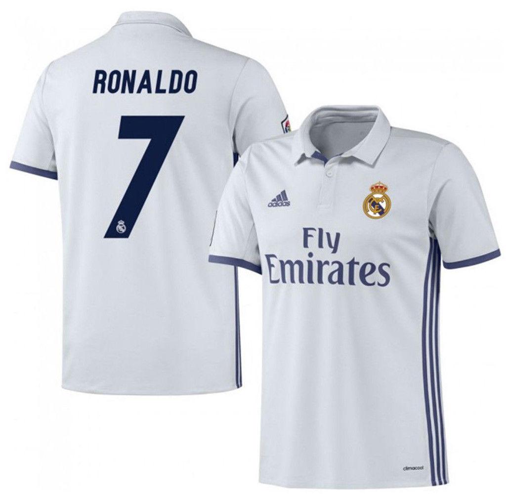 Adidas Cristiano Ronaldo Real Madrid Home Jersey 2016 17 la Liga España