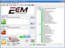 ECM TITANIUM 1.61 , WINOLS 2.24, 10gb di software e map ori mod entra e leggi!!