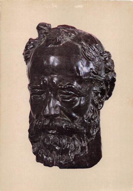BF39108 head of legros  calouste gulbenkian sculpture art postcard