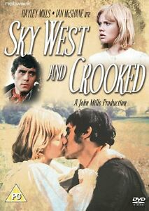 Sky-West-and-Crooked-DVD-NEW-amp-SEALED-Hayley-Mills-Ian-McShane