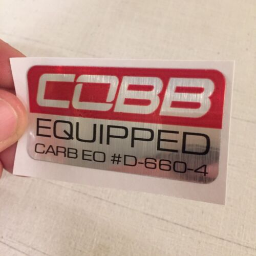 Cold Air Intake CARB Sticker D-660-4