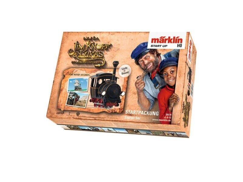 Märklin 29179 start up-Confezione iniziale 'Jim Bottone' Sound & Luce C-binario h0