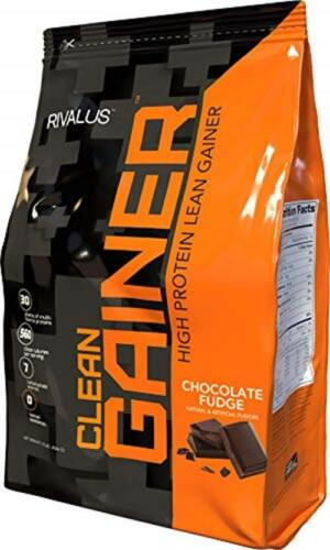 Rivalus CLEAN GAINER Muscle Weight Gainer, 12LB BONUS Size,