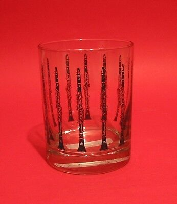Violin Design Glass Tumbler Group Musician Orchestra Music Teacher Student Gift