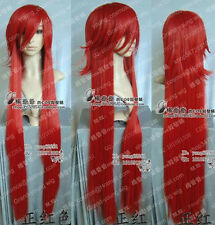 Grell / kuroshitsuji Cosplay Long Red Wig 1M 39inch