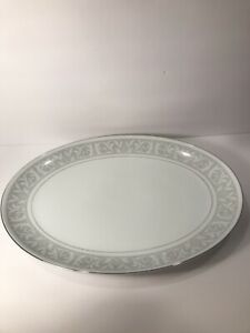WM. DALTON IMPERIAL CHINA LARGE OVAL PLATTER  ''WHITNEY'' #5671 JAPAN 16 1/4''