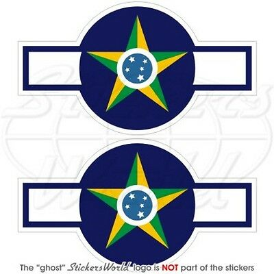 """Decals x2 CHINA Chinese AirForce PLAAF Insignia 95mm Vinyl Stickers 3.7/"""""""
