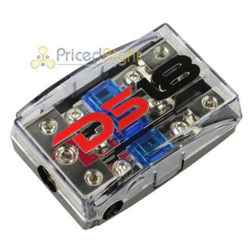 DS18 Mini Anl Fuse Holder 0 4 8 Gauge Input Output FD1024 Distribution Block