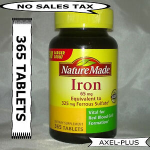Nature Made Iron Supplements