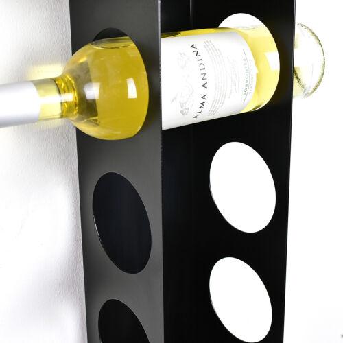 Kitchen Under Cabinet Space Filler Wine Rack 7 Bottle Holder Unit Shelf Modern