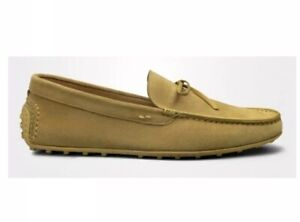 John-Lobb-suede-moccasins-Loafers-LYNTHER-Yellow-Uk6-5-US7-5-EU40-5-RRP-799