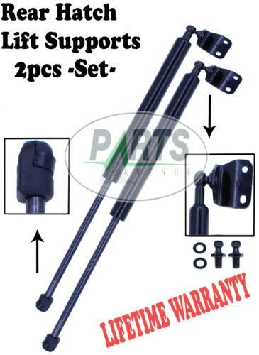 2 REAR TRUNK HATCH LIFT SUPPORTS SHOCKS STRUTS ARM PROPS RODS COUPE WITH SPOILER