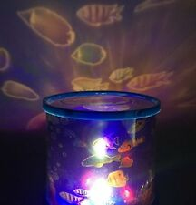 Aeeque Ocean Fish Led Light Projector Baby Night Light Relaxing Mood Deep Sea